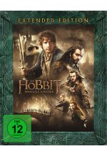 Der Hobbit 2 - Smaugs Einöde - Extended Edition  [3 BRs] Blu-ray-Cover