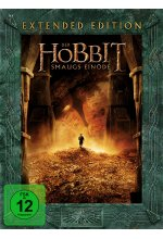 Der Hobbit 2 - Smaugs Einöde - Extended Edition  [5 DVDs] DVD-Cover