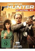 Hunter - Staffel 4.1  [3 DVDs] DVD-Cover