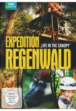 Expedition Regenwald - Life in the Canopy DVD-Cover