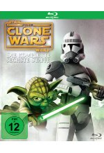 Star Wars - The Clone Wars - Staffel 6  [2 BRs] Blu-ray-Cover