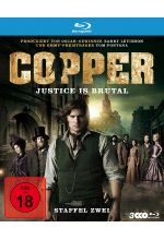 Copper - Justice Is Brutal/Staffel 2  [3 BRs] Blu-ray-Cover