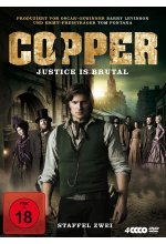 Copper - Justice Is Brutal/Staffel 2  [4 DVDs] DVD-Cover