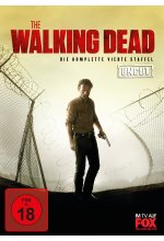 The Walking Dead - Die komplette vierte Staffel - Uncut  [5 DVDs] DVD-Cover