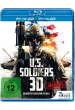 U.S. Soldiers 3D - Vol. 1 Marines IMAX  (inkl. 2D-Version) Blu-ray 3D-Cover