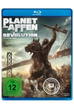 Planet der Affen: Revolution Blu-ray-Cover