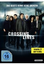 Crossing Lines - Staffel 2  [4 DVDs] DVD-Cover