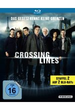 Crossing Lines - Staffel 2  [2 BRs] Blu-ray-Cover