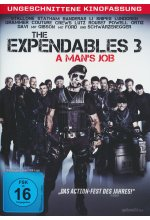 The Expendables 3 - A Man's Job - Ungeschnittene Kinofassung DVD-Cover