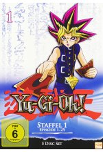 Yu-Gi-Oh! 1 - Staffel 1.1/Episode 1-25  [5 DVDs] DVD-Cover