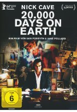 20.000 Days on Earth  (OmU) DVD-Cover