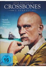 Crossbones - Die komplette 1. Staffel  [3 DVDs] DVD-Cover