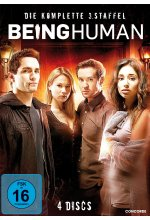 Being Human - Staffel 3  [4 DVDs]        <br> DVD-Cover