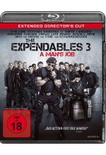The Expendables 3 - A Man's Job - Extended Director's Cut Blu-ray-Cover