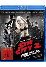 Sin City 2 - A Dame To Kill For Blu-ray-Cover
