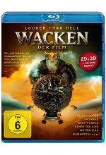 Wacken - Der Film  (inkl. 2D-Version) <br> Blu-ray 3D-Cover