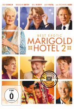 Best Exotic Marigold Hotel 2 DVD-Cover
