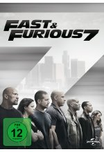 Fast & Furious 7 DVD-Cover
