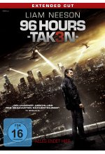 96 Hours - Taken 3 DVD-Cover