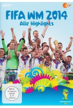 FIFA WM 2014 - Alle Highlights DVD-Cover