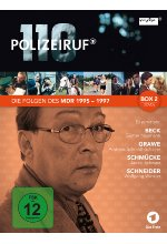 Polizeiruf 110 - MDR Box 2  [3 DVDs] DVD-Cover