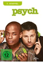 Psych - Season 7  [4 DVDs] DVD-Cover