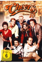 Cheers - Season 10  [4 DVDs] DVD-Cover