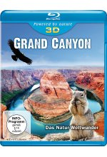 Grand Canyon - Das Natur-Weltwunder  (inkl. 2D-Version)<br> Blu-ray 3D-Cover