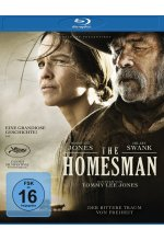 The Homesman Blu-ray-Cover