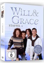 Will & Grace - Staffel 4  [4 DVDs] DVD-Cover