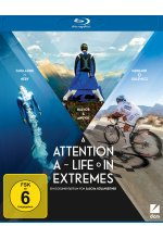 Attention - A Life in Extremes Blu-ray-Cover