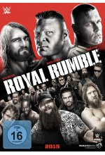 Royal Rumble 2015 DVD-Cover