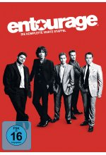 Entourage - Staffel 4  [3 DVDs] DVD-Cover