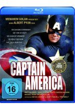 Captain America - Remastered Blu-ray-Cover