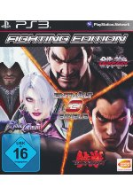 Fighting Edition (Soul Calibur V - Tekken 5 - Tekken Tag Tournament 2) Cover