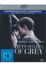 Fifty Shades of Grey - Geheimes Verlangen Blu-ray-Cover