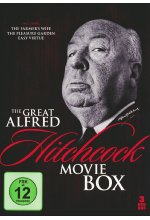 The Great Alfred Hitchcock Box  [3 DVDs] DVD-Cover