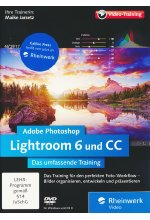 Adobe Photoshop Lightroom 6 und CC - Das umfassende Training Cover