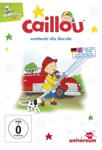 Caillou entdeckt die Berufe DVD-Cover