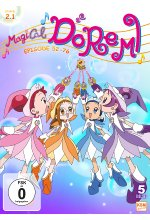 Magical Doremi - Staffel 2.1/Episode 52-76  [5 DVDs] DVD-Cover