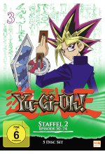 Yu-Gi-Oh! 3 - Staffel 2.1/Episode 50-74  [5 DVDs] DVD-Cover