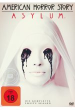 American Horror Story - Season 2/Asylum  [4 DVDs] DVD-Cover