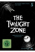 The Twilight Zone - Staffel 5  [5 DVDs] (+ Bonus DVD) DVD-Cover