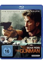 The Gunman Blu-ray-Cover