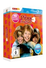 Pippi Langstrumpf TV-Serie Blu-ray Box - Sammler-Edition  [LE] (+ Bonus-DVD) Blu-ray-Cover