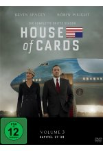 House of Cards - Season 3  [4 DVDs] DVD-Cover