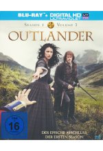 Outlander - Season 1/Vol. 2  [3 BRs] Blu-ray-Cover