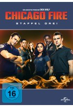 Chicago Fire - Staffel 3  [6 DVDs] DVD-Cover