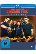 Chicago Fire - Staffel 3  [6 BRs] Blu-ray-Cover