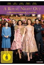 A Royal Night Out - 2 Prinzessinnen. 1 Nacht. DVD-Cover